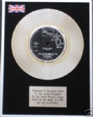 "SUPREMES - 7"" Platinum Disc - STOP IN THE NAME OF LOVE"